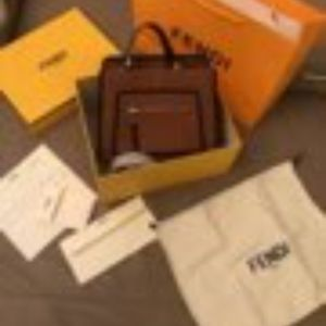 Fendi Bags - Real leather Fendi bag